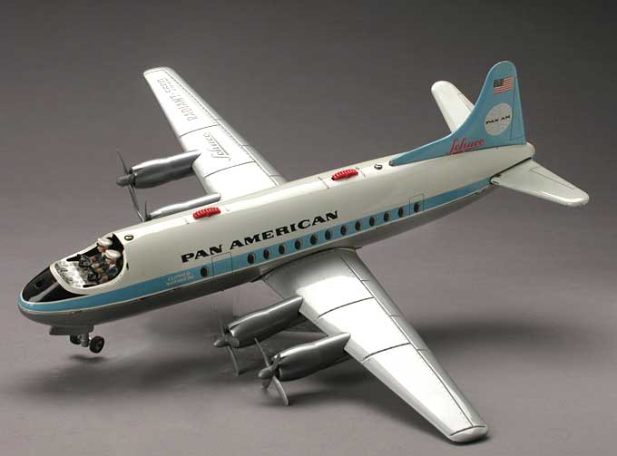 schuco 5600 tin toy airplane radiant