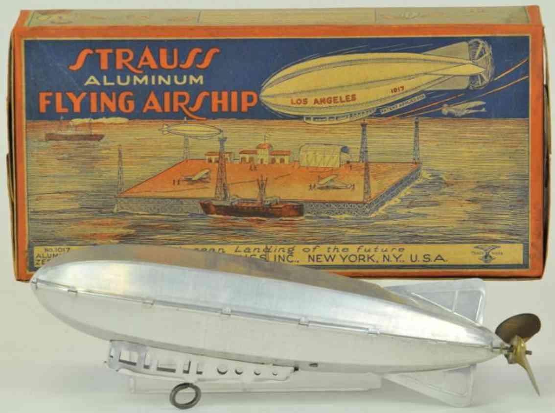strauss la 1017 blech spielzeug graf zeppelin jr luftschiff