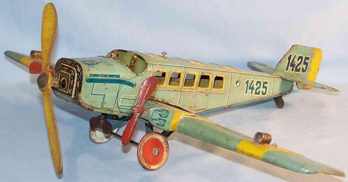Tippco 1425 Eindecker Flugzeug