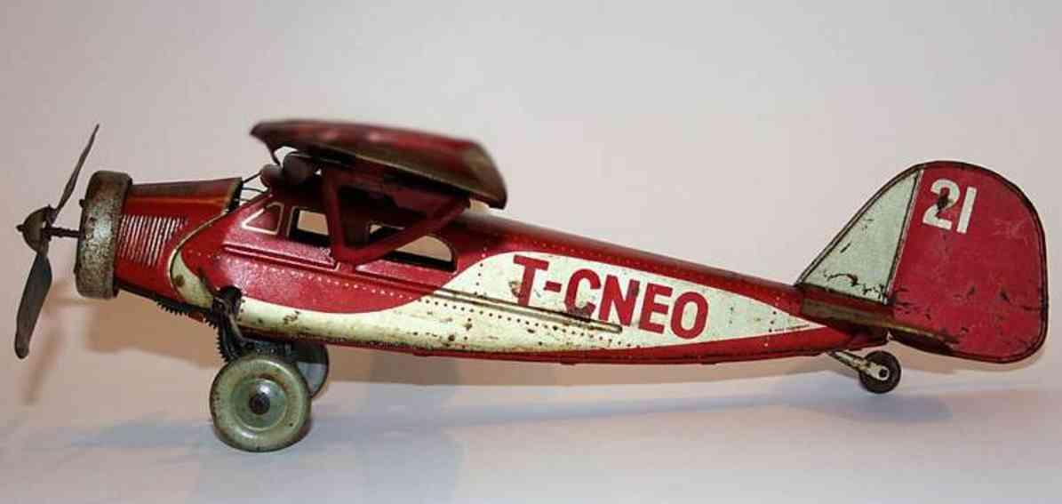 Tippco 21 Flugzeug Junkers Endecker T-CNEO