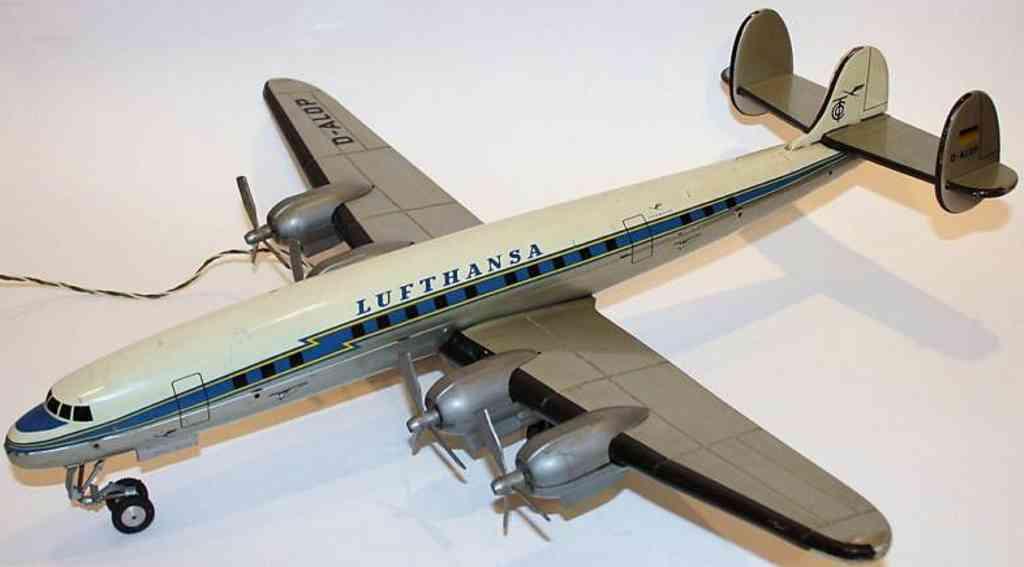 Tippco Flugzeug Superconstellation Lufthansa