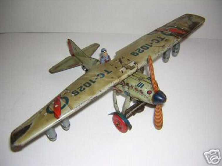 Tippco 29 Flugzeug Bomber TC-1029