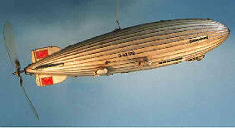 tippco 45 blech spielzeug zeppelin luftschiff hindenburg dlz 129