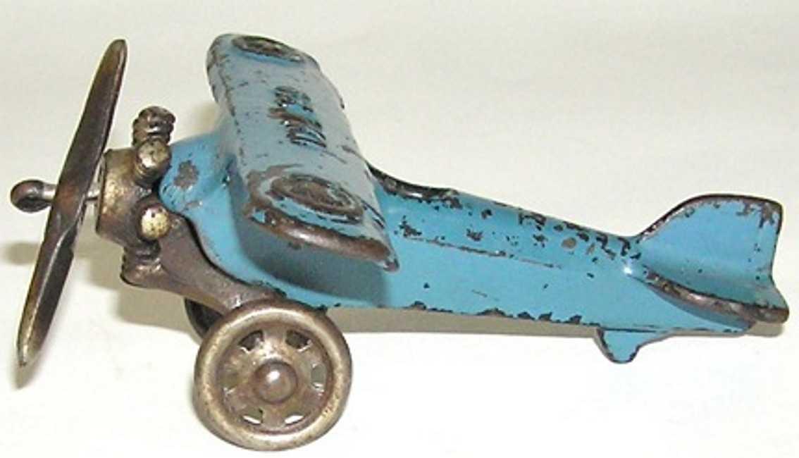 williams ac ux-99 spielzeug gusseisen flugzeug blau