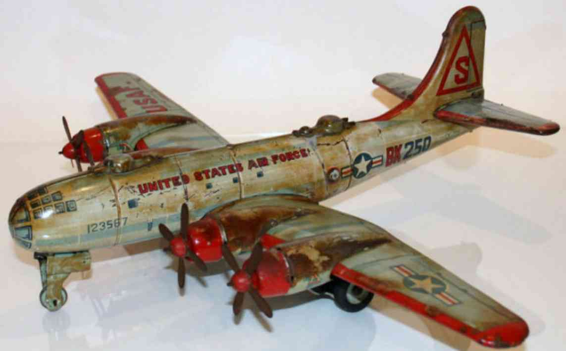 Yonezawa Flugzeug Bomber BK 250 viermotorig