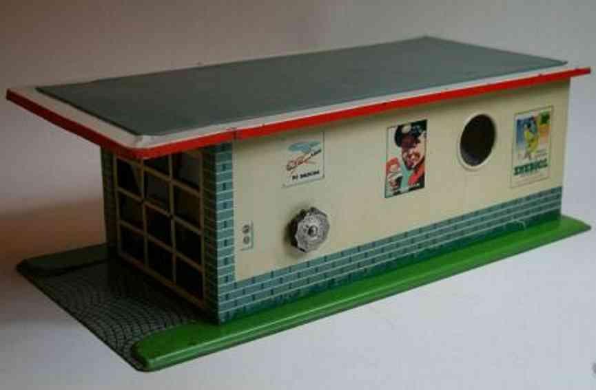 arnold 1600 blech spielzeug garage