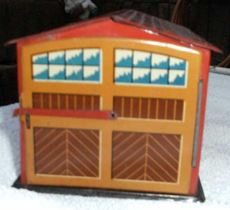 distler blech spielzeug garage