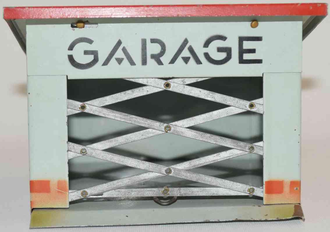 kibri blech spielzeug garage blech gittertor