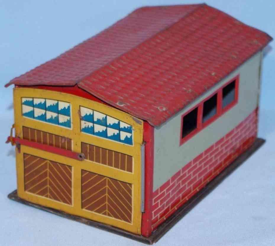 levy george gely blech spielzeug garage