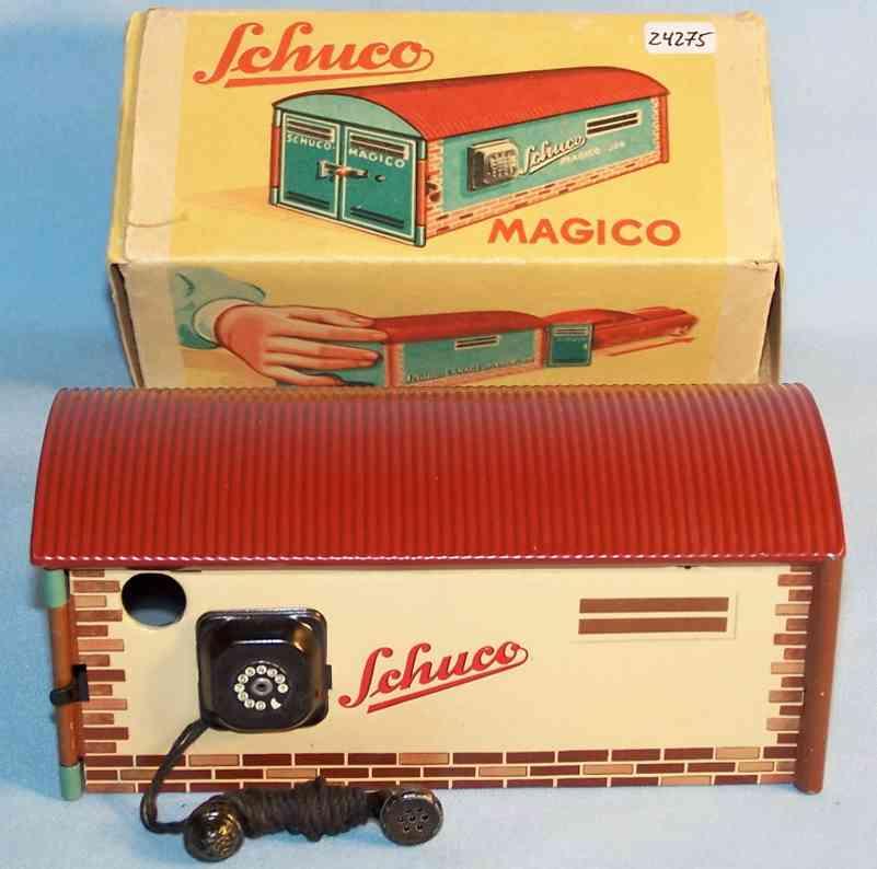 Schuco 500 Garage Magico