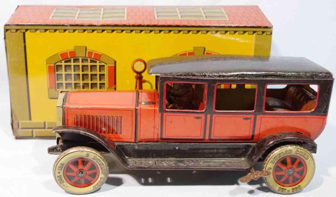 tippco blech spielzeug reiselimousine 950 mit garage