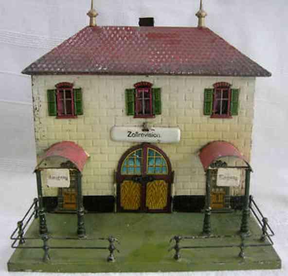 carette 647/136 railway toy building customs building