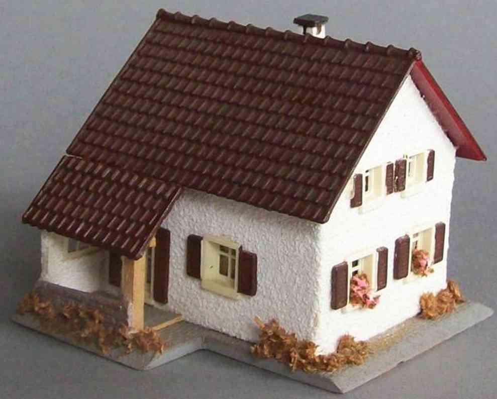 Faller 205 Familienhaus aus Holz und Kunststoff