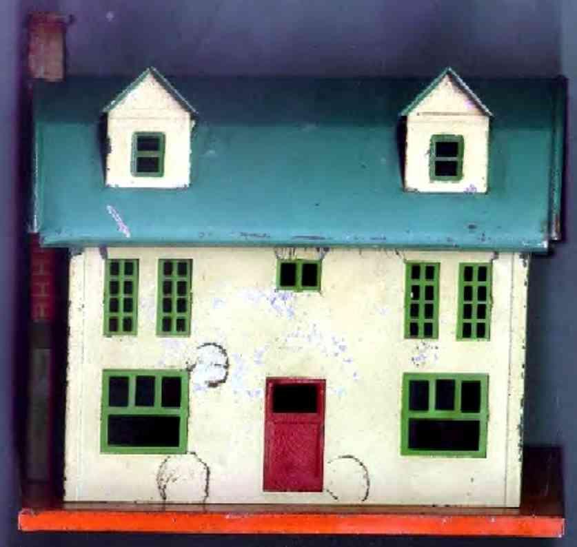 ives 251 (1869) spielzeug eisenbahn gebaeude diese villa hat im katalog 1929 oder 1930 die nr. 251 und in