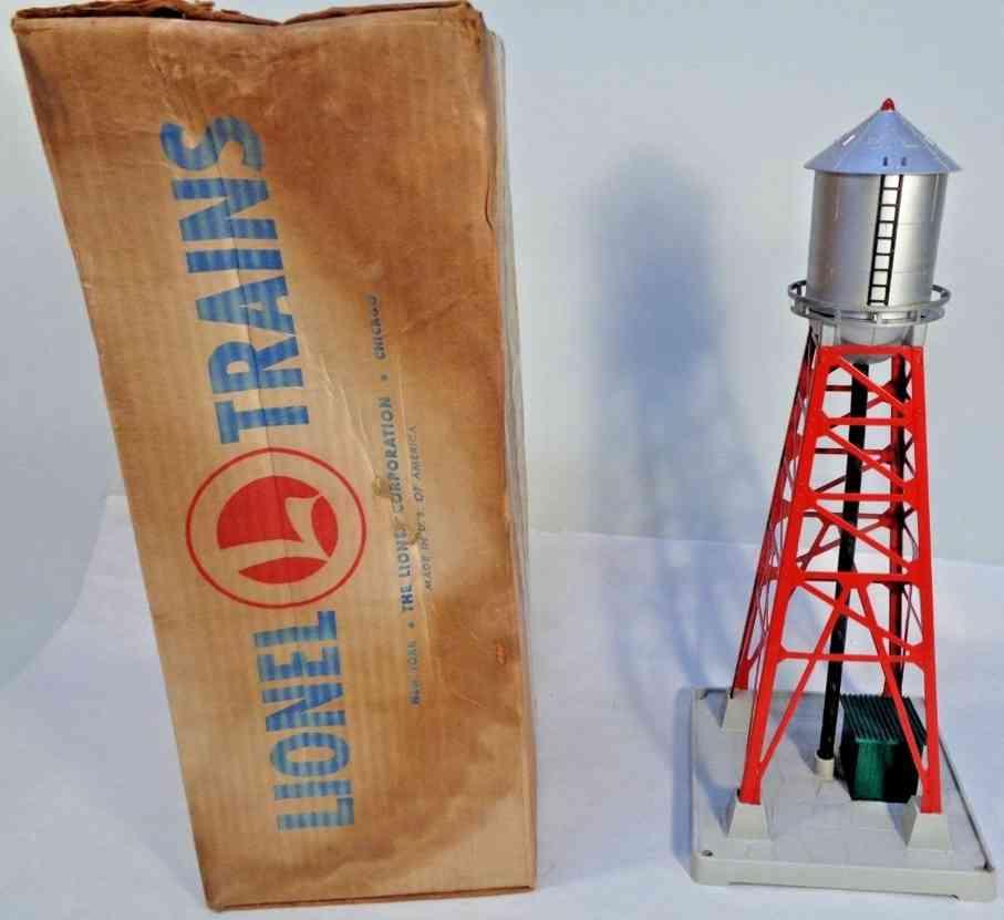 lionel 193 railway toy water tower plastic metal