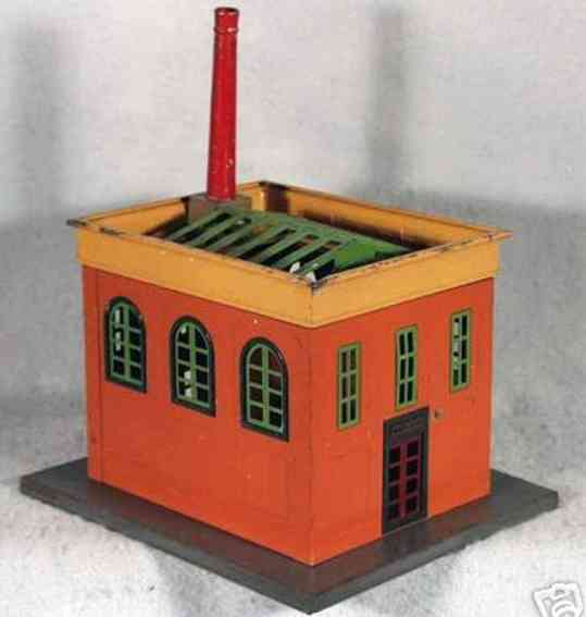 lionel 436 tin toy building power station