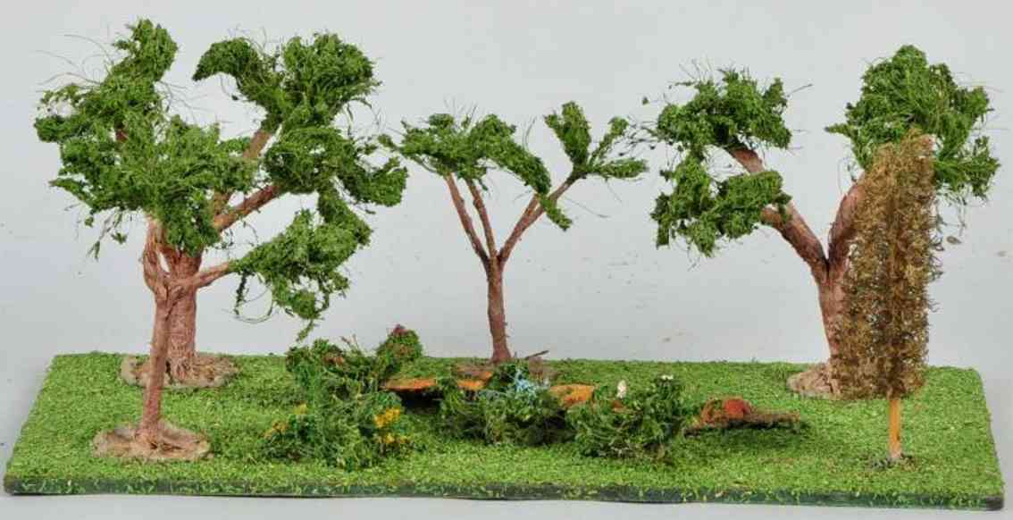 lionel 910 railway toy  groove of trees and shrubs artificial grass