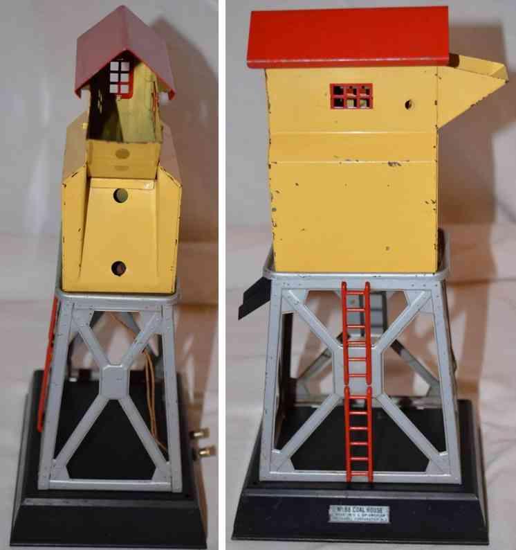 lionel 98 railway toy coal bunker in cream non-motorized