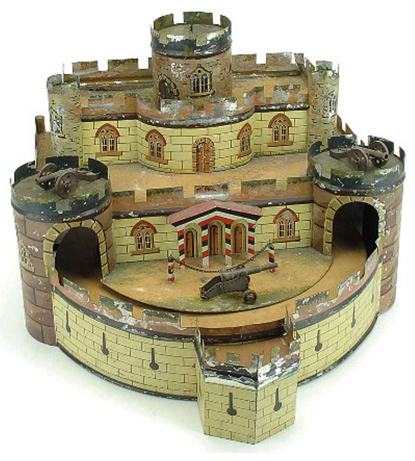 Märklin Festung mit Drehscheibe und Musikkasten