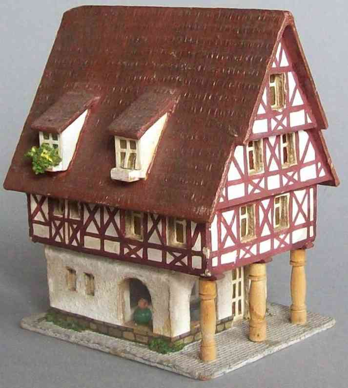 RS Rudof Spitaler 6451 Half-timbered house of wood