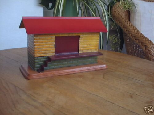 bing 9912/0 railway toy freight shed