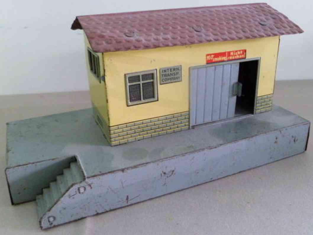 dressler konrad railway toy freight shed goods shed