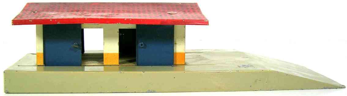 kibri 0/49/84 railway toy freight goods shed gauge h0