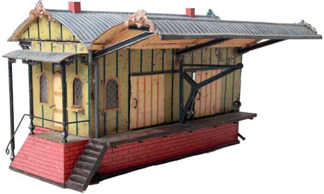 marklin maerklin 02103 1045/III railway toy freight shed with protective roof