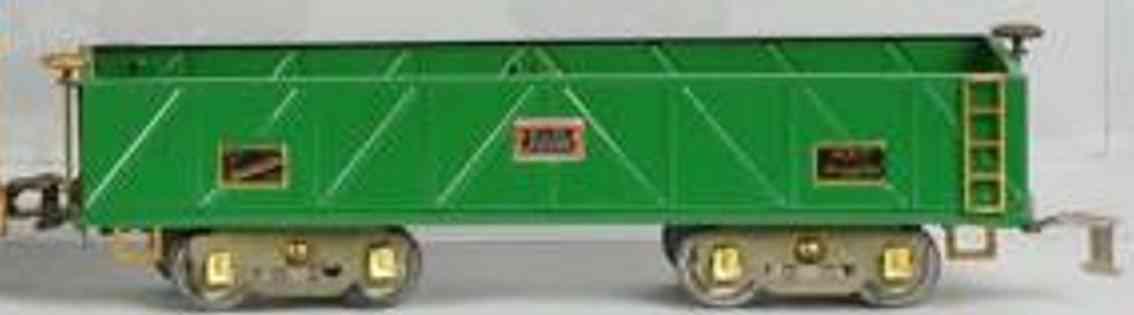 american flyer 4017 spielzeug eisenbahn offener gueterwagen standard gauge