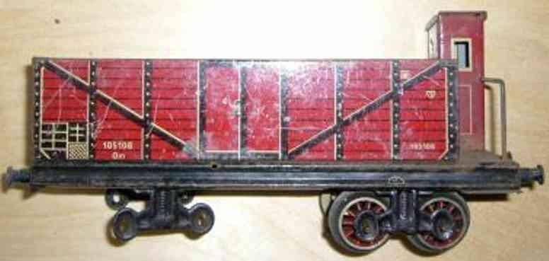 Bing 10/5106 Güterwagen Hochbordwagen