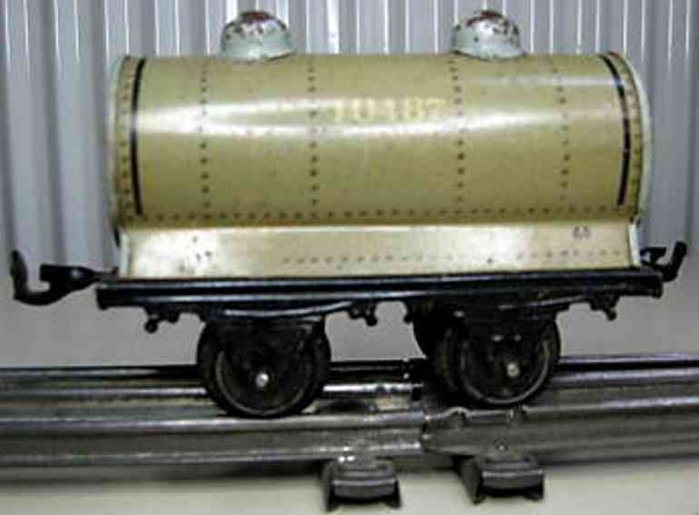 bing 10/517 10487 spielzeug eisenbahn kesselwagen grau spur 0