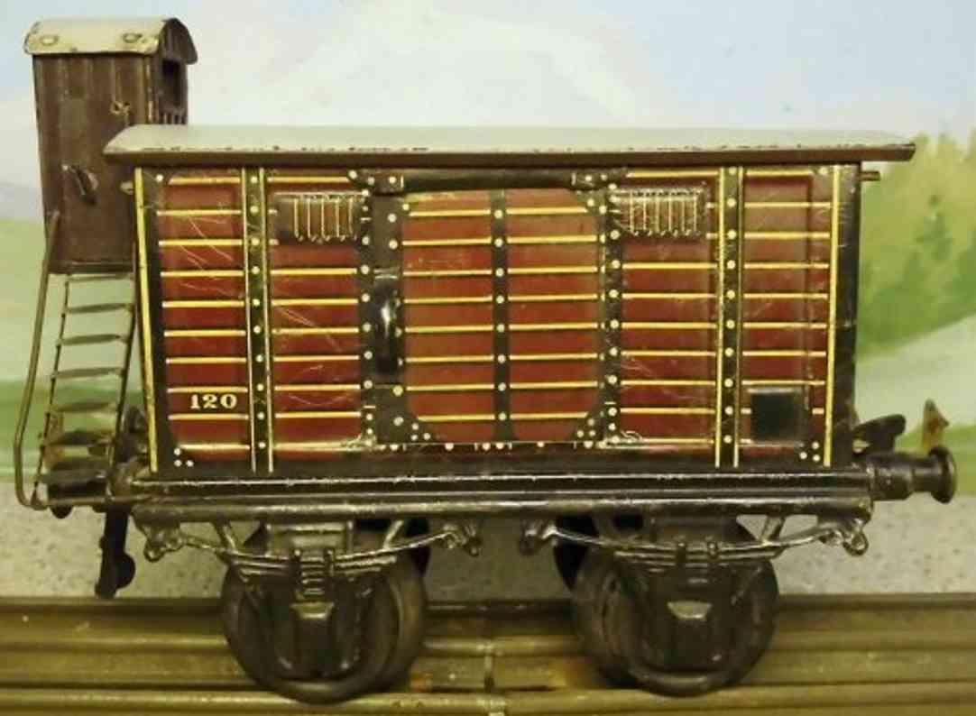 Bing 10/59 Gedeckter Güterwagen