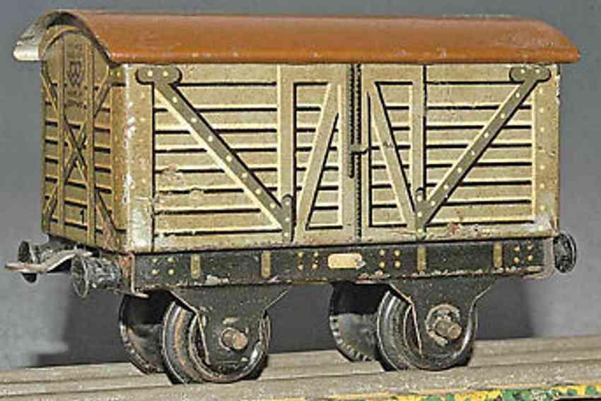 Bing 11/923/23 Gedeckter Güterwagen