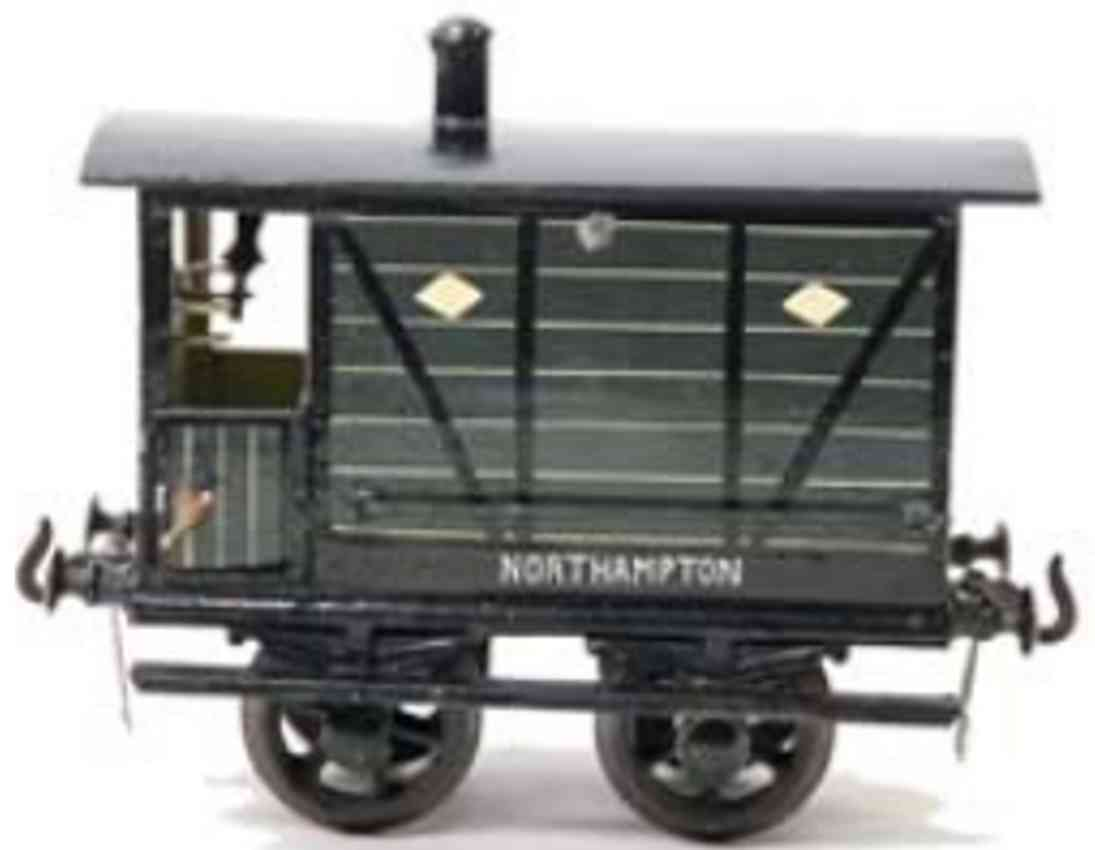 bing northampton railway toy box car green