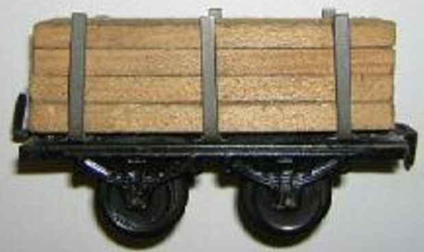 bub 970 railway toy lumber car gauge 0