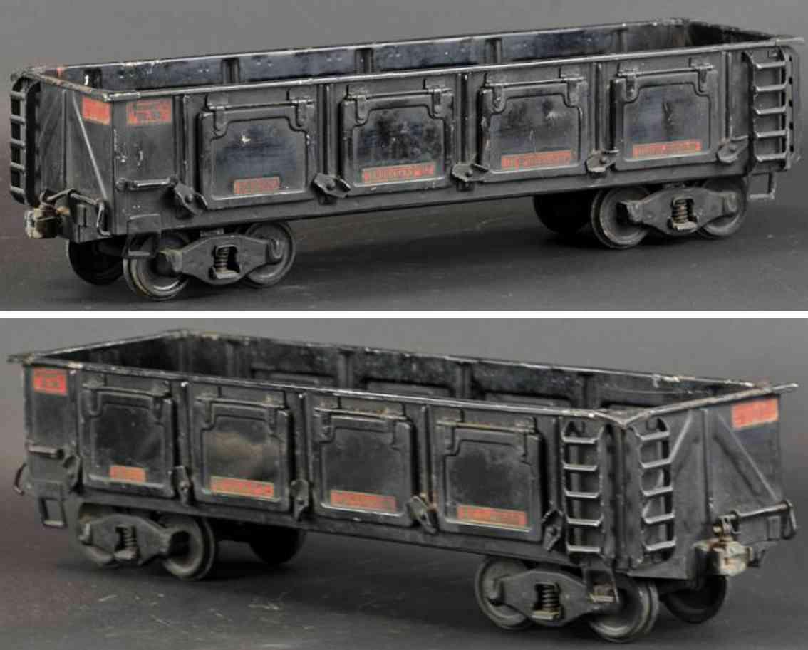 buddy l 1008 spielzeug eisenbahn schotterwagen outdoor