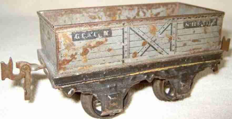 Carette 135/8/48 Gedeckter Güterwagen