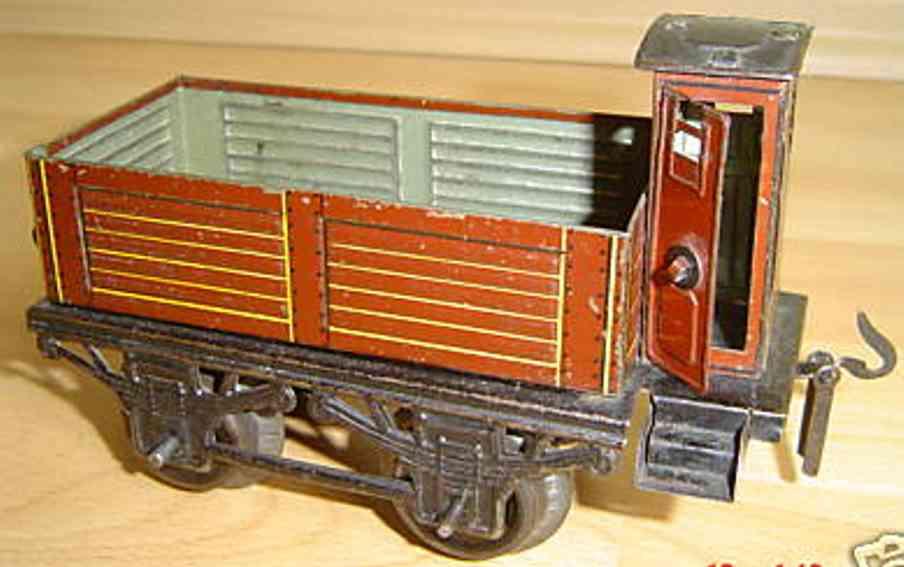 Carette Güterwagen mit Bremserhaus