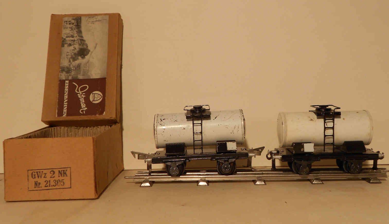 ditmar gwz2 21.305 railway toy tank car gauge 0