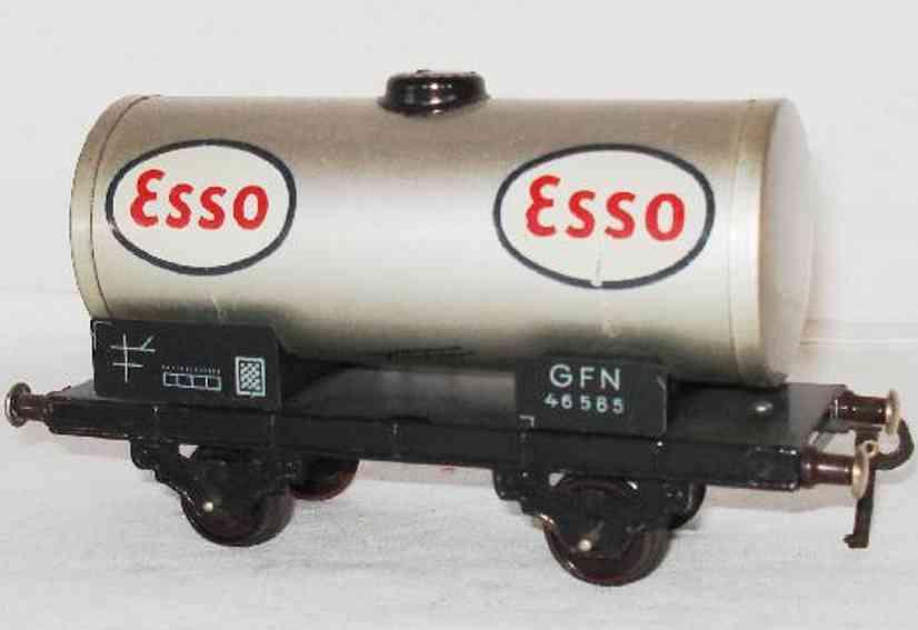 fleischmann 465 e eisenbahn kesselwagen esso spur 0