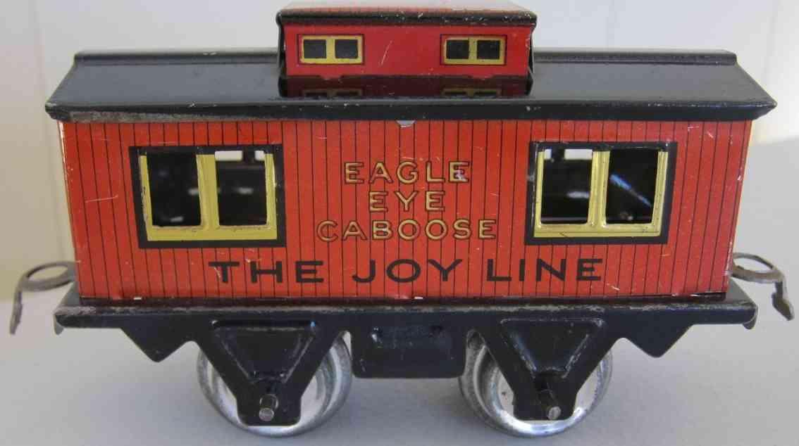girard spielzeug eisenbahn caboose eagle eye caboose the joy line 356