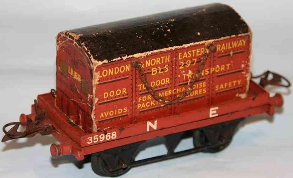 Hornby Güterwagen mit Transportkiste