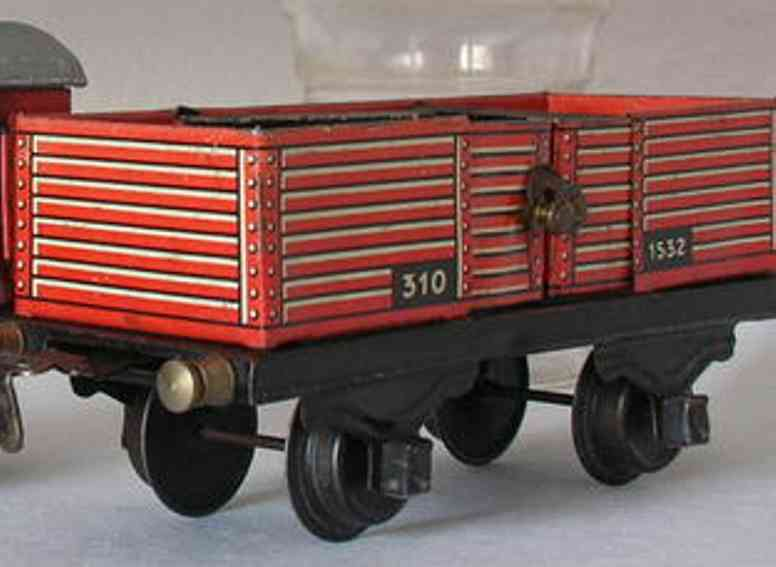 Husch 310 Offener Güterwagen