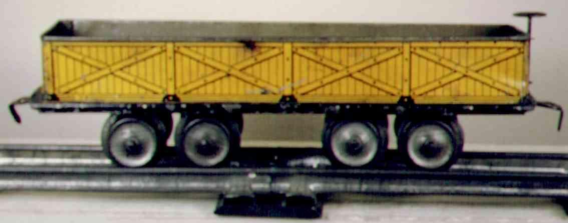 ives 128 1904 spielzeug eisenbahn kieswagen spur 0