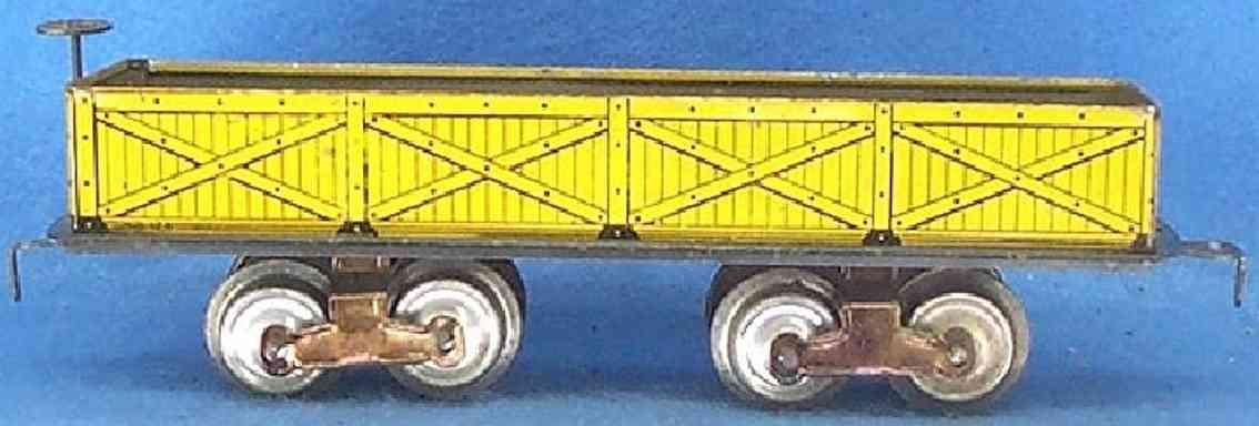 ives 128 1910 pielzeug eisenbahn kieswagen spur 0