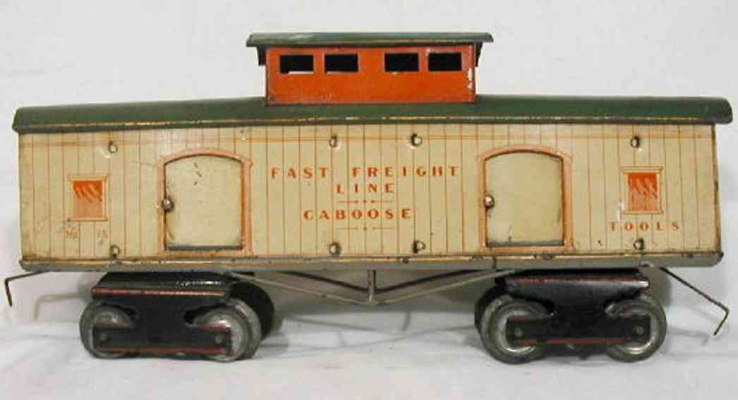 Ives 75 Freight Wagon Caboose
