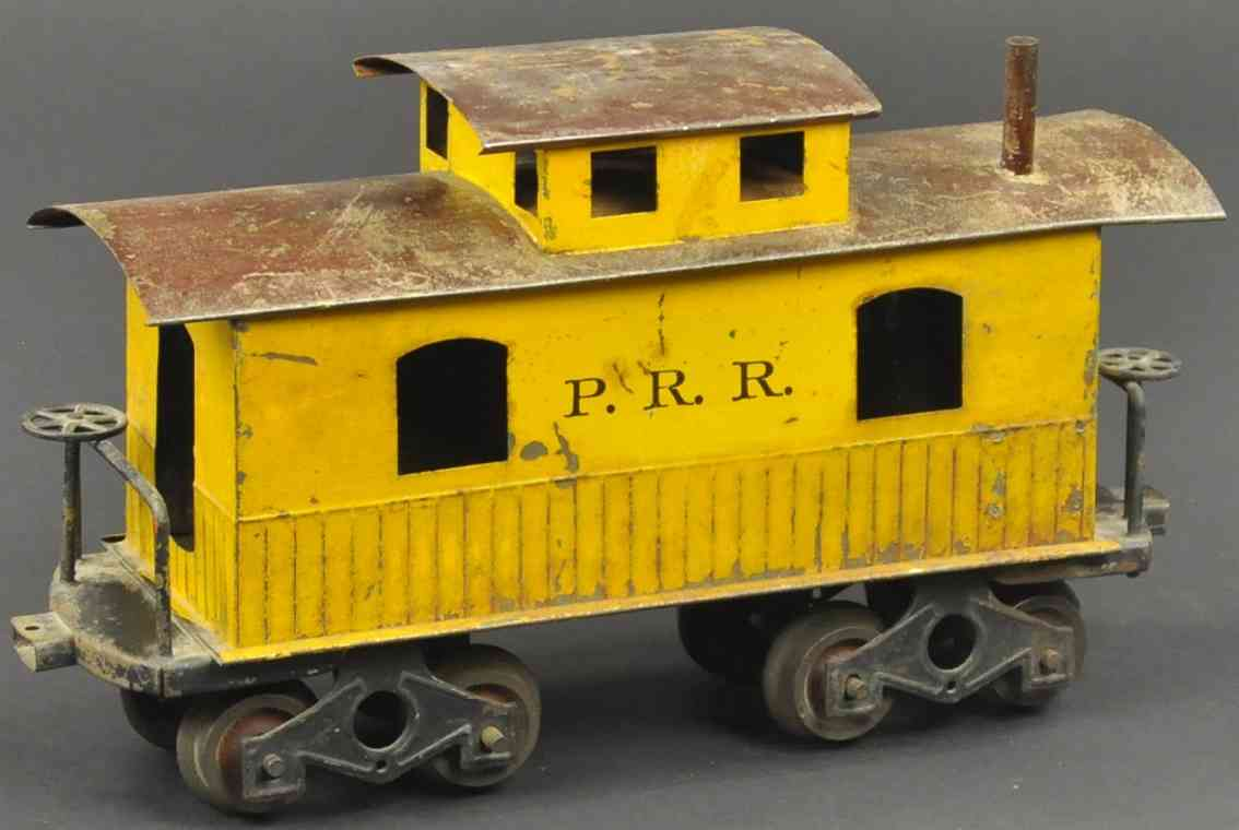 knapp electric and novelty company cabooseprr  gelb braun spur 2 inches