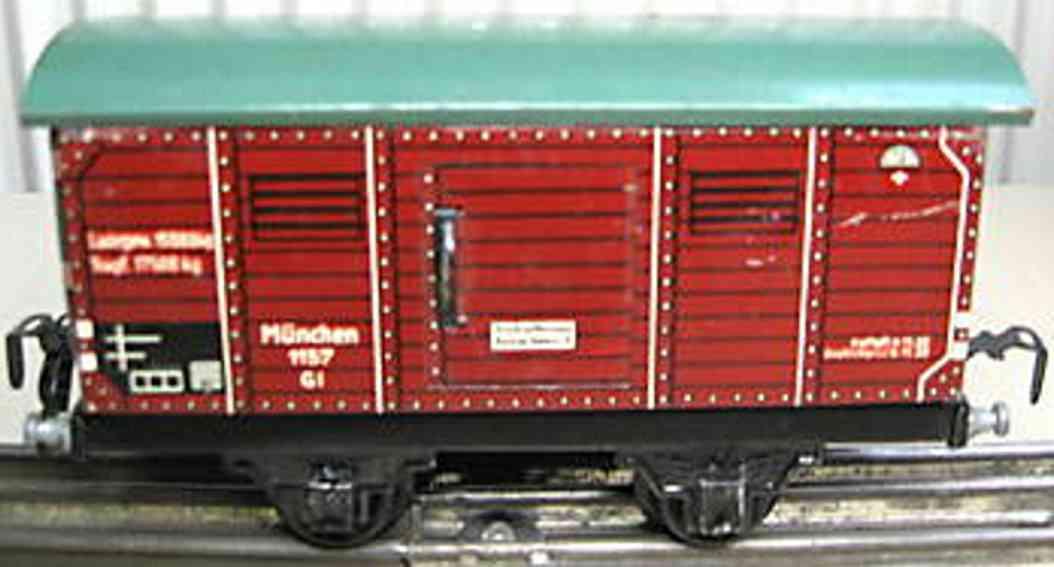Kraus-Fandor 1157/10 Gedeckter Güterwagen
