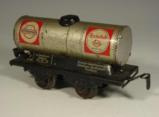 kraus-fandor 1254/0 st spielzeug eisenbahn kesselwagen silbern standard spur 0