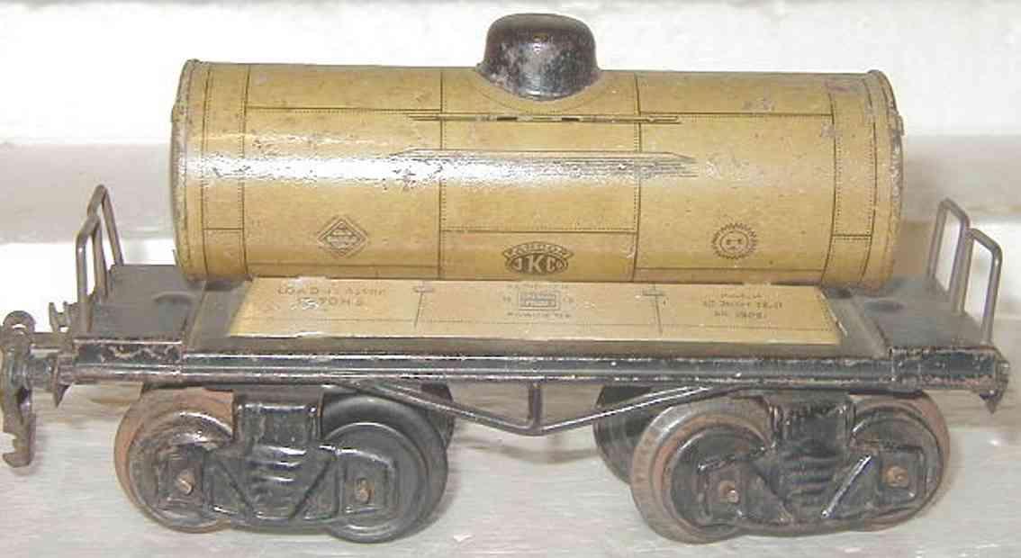 kraus-fandor 1305 spielzeug eisenbahn guterwagen kesselwagen spur 0